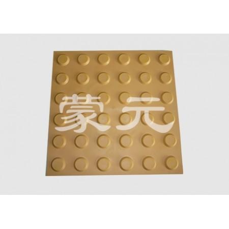 土黄色塑胶盲道板价格