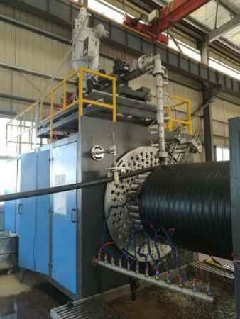 PE大口径缠绕管生产线