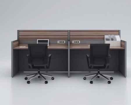 屏风桌工业风办公桌