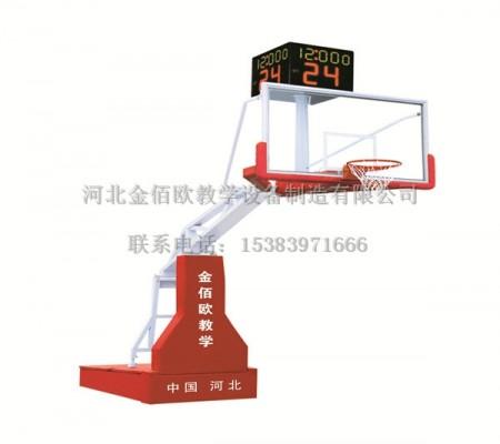 电动手动液压赛事篮球架