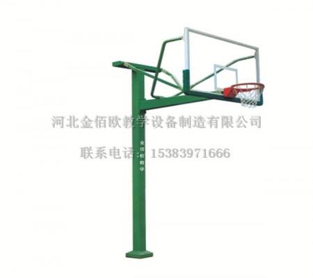 圆管方管地埋固定式篮球架