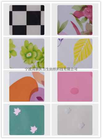 PVC膜印花面料