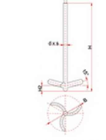 叶轮式搅拌器