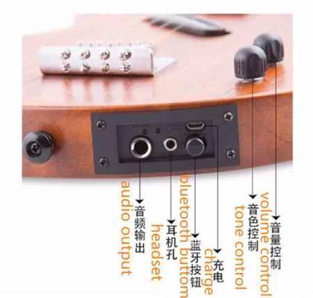 静音吉他蓝牙系统