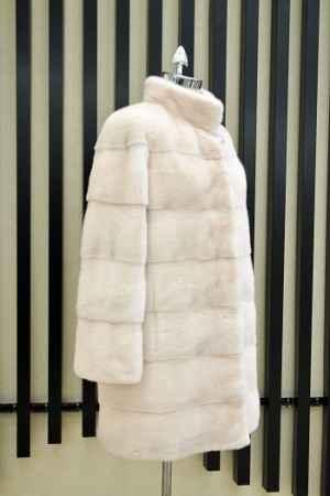 进口天鹅绒水貂皮大衣