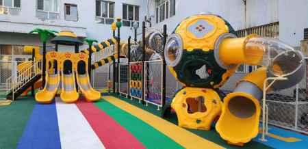 幼儿园滑梯经销商