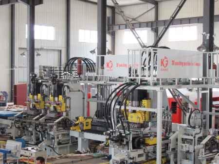 五主机三面冲孔生产线生产厂家