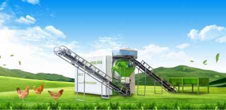 禽畜粪污再回收利用发酵设备